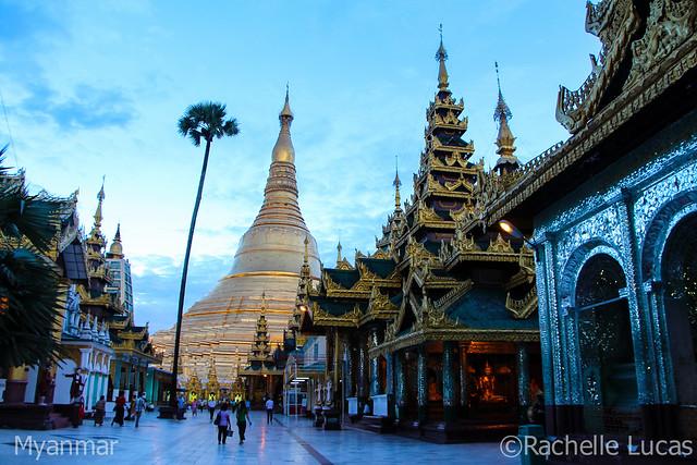Shwedagon Pagoda-38