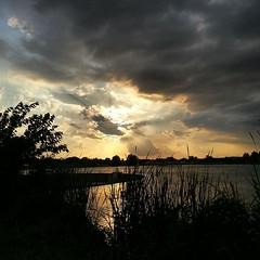 Almost sunsetish.. . ;)  #sunset #4thofjuly