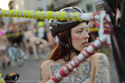 2014 World Naked Bike Ride -45