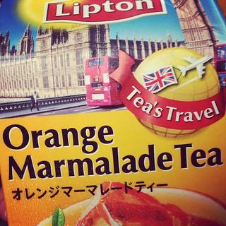 This Ain't Your Grandma's Tea: Orange Marmalade