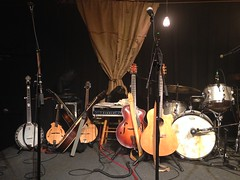 Some of the instruments used by Black Prairie