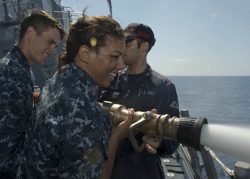 USS William P. Lawrence Hosts Midshipmen Summer Cruise