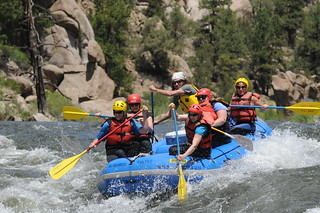 Rafting Brown's Canyon on the Arkansas River