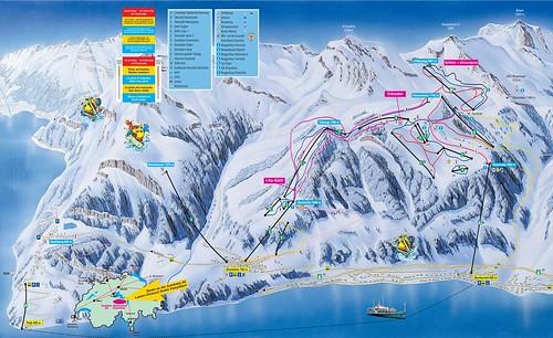 Klewenalp Stockhütte - mapa sjezdovek