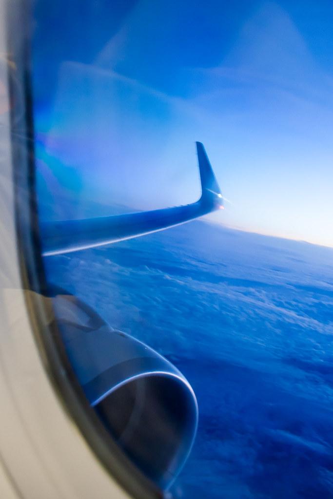 Москва. Полет обратно. Airbus A321-211