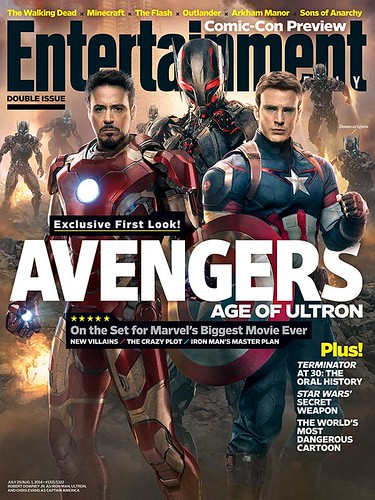 140717(1) - 英雄累了…「快銀」飆了!2015年電影《Avengers: Age Of Ultron》(復仇者聯盟2:奧創紀元)公開8張劇照&故事大意! 1