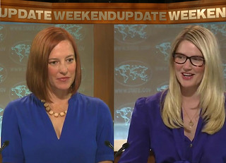 Jen Psaki and Marie Harf look like SNL charaters