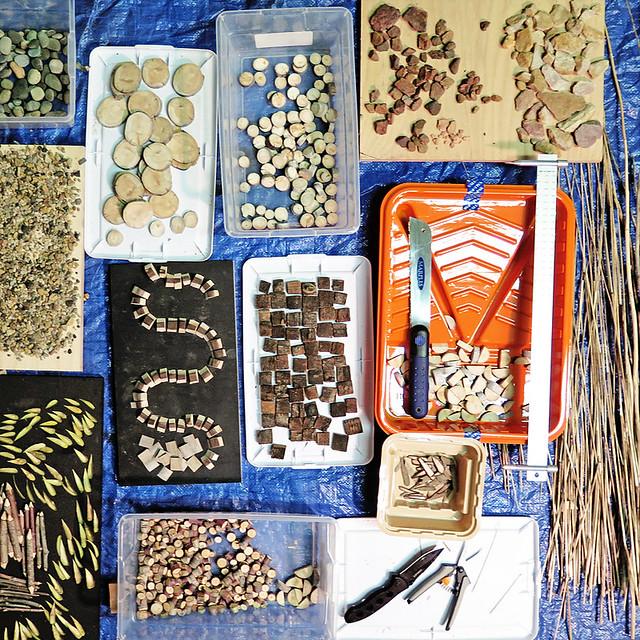 Mandala Mosaic Series : Utah Native Elements.