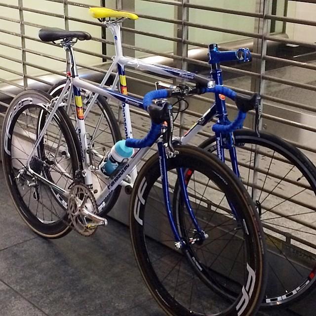 #panasonicbike #panasoniccx ロードバイク53サイズ&シクロクロス57サイズ。