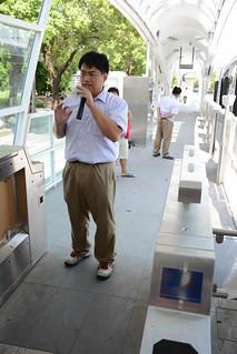 BRT車站解說中