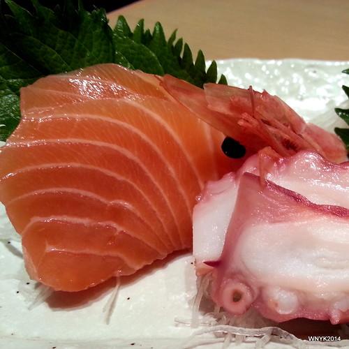 Salmon & Tako