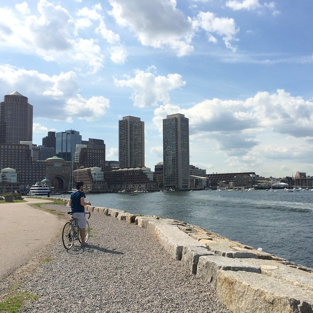 A bike ride to Castle Island, part 3. #latergram