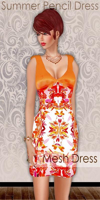Summer Pencil Dress MM Board Ad-Entice
