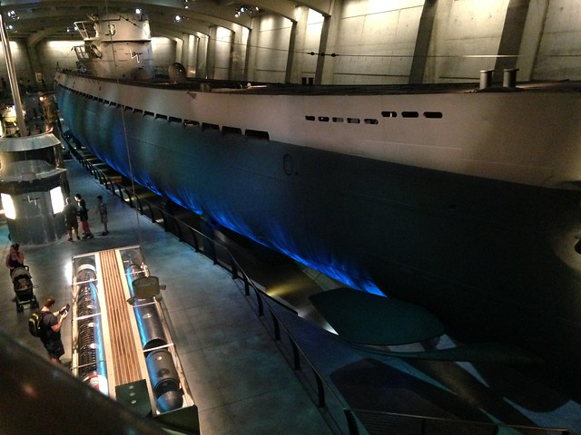 U-505 @ Chicago Museum of Science & Technology