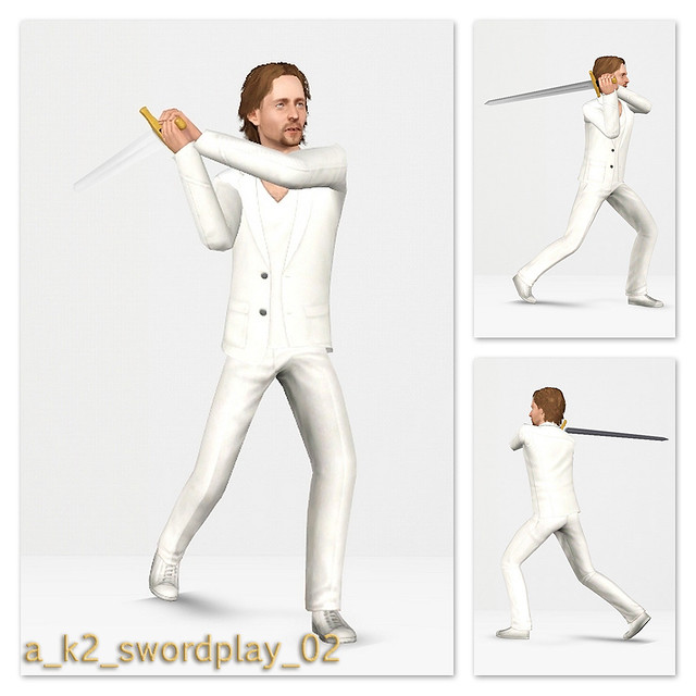 SwordPlay - Pose 02
