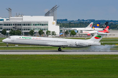 airline, aviation, airliner, airplane, vehicle, mcdonnell douglas dc-9, mcdonnell douglas md-80, wide-body aircraft, takeoff, jet aircraft, boeing 717,