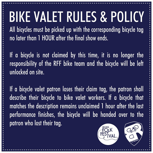 14L - Bike Valet Policy