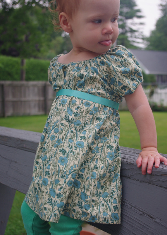 Poppies Raglan Dress