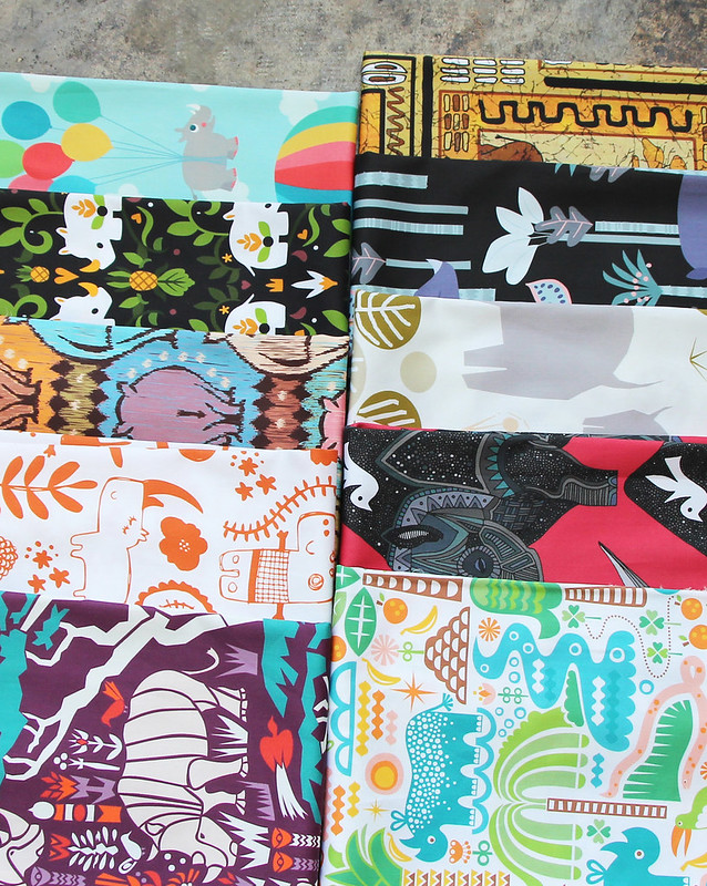 Rhinos Design Challenge Fat Quarter Bundle
