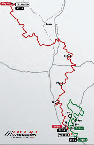 Puntos de interés Baja España Aragón 2014