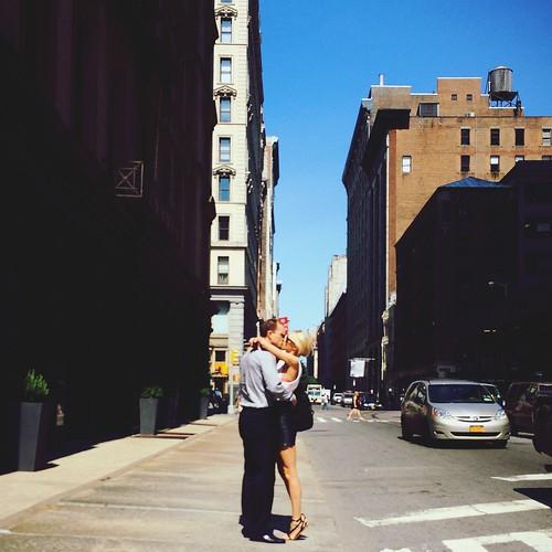 Kissing Street Fashion