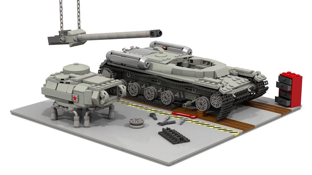 lego ww2 tank instructions
