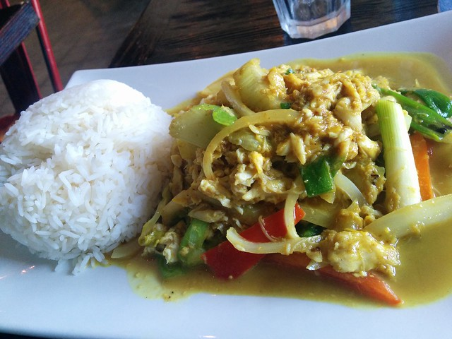 Sauteed Blue Crab In Curry Sauce