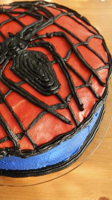 Spider-Man Spice Cake 42