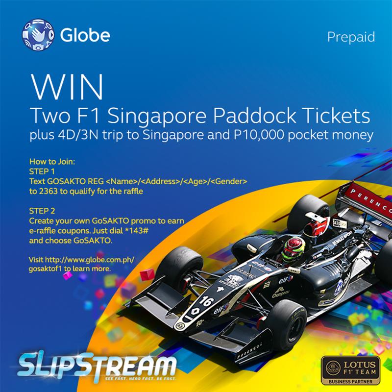 Globe F1 singapore
