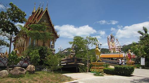 Koh Samui Wat Plailaem サムイ島パイレム寺