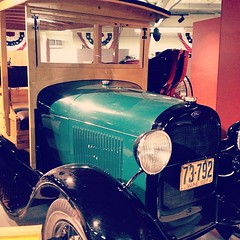 Vroom vroom #car #antique #vintage #museum #fun