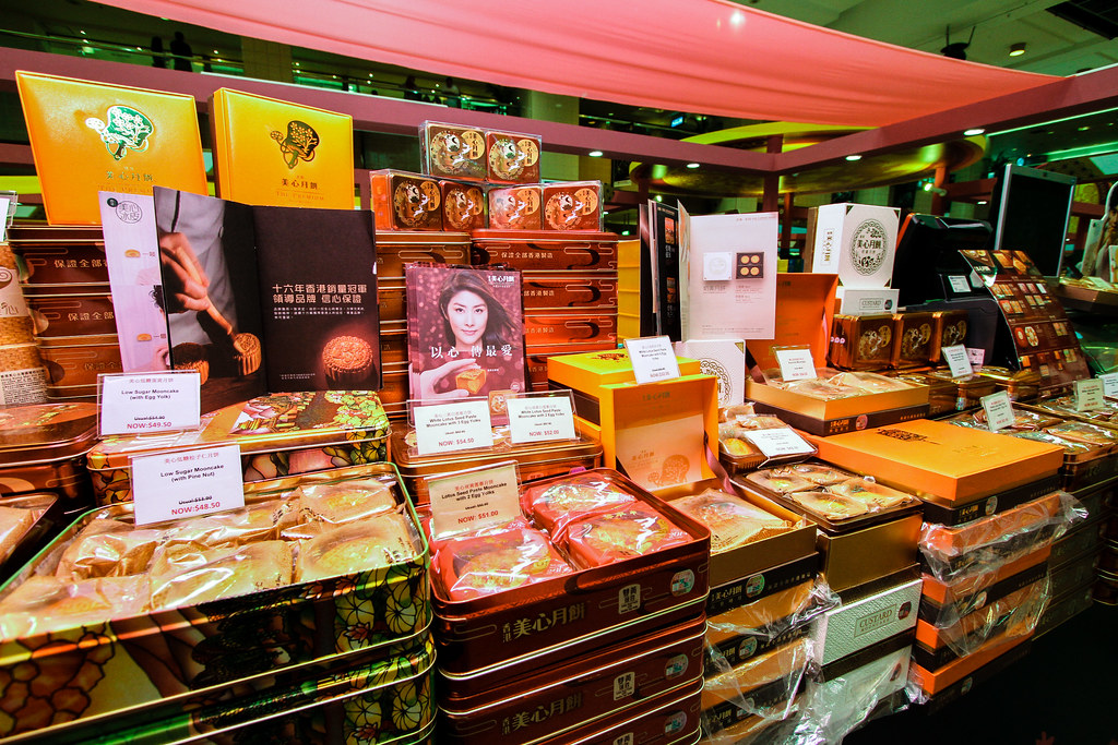 All the Mei Xin Mooncakes!!