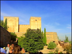 Spain, Granada. Alhambra