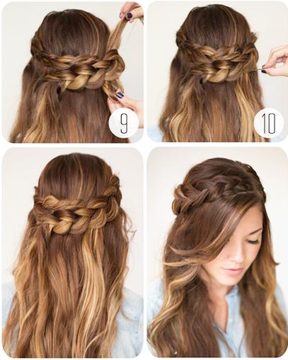 Hướng dẫn các cách tết tóc ĐẸP mà đơn giản 38
