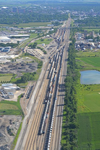 railroad yard train profile aerial il champaign 1c rollingstock leverettjct