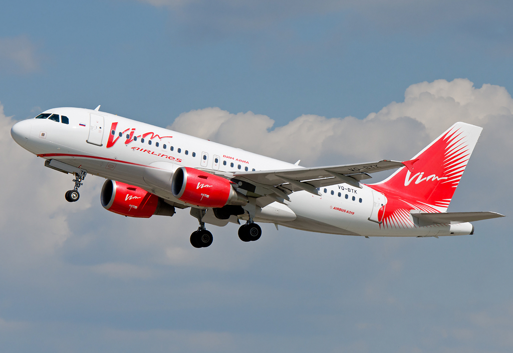VQ-BTK VIM Airlines Airbus A319-111