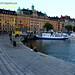 En plein coeur de l'été scandinave, le soleil se couche vers 22 heures à Stockholm.