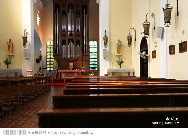 【澳門景點推薦】澳門綠色文創一日遊~普濟禪寺、東望洋燈塔、國父紀念館、望德聖母堂61