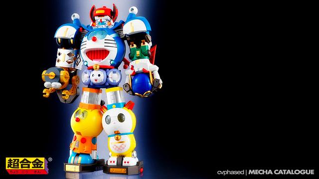 Chogokin Chogattai Robot Fujiko F. Fujio Characters