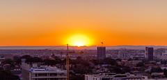 Sunset @ UNSW IT