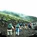 Mt. Fuji (Fujisan) climbers