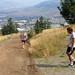 Cole Hooper running with Corey Wallis (Aug 20, 2014 J. Shephard)