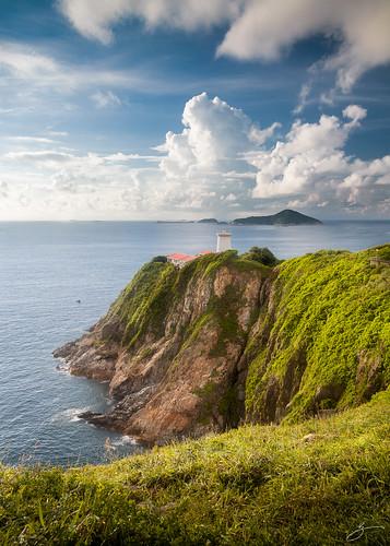 blue sea sky seascape clouds canon landscape hongkong 5dmarkii