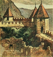 """Image from page 370 of """"Castles and chateaux of old Burgundy and the border provinces"""" (1909)"""