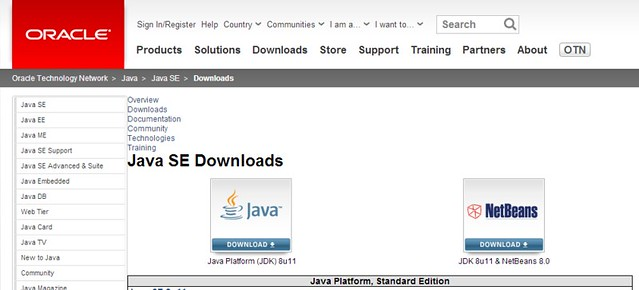 Java SE - Downloads - Oracle Technology Network - Oracle.clipular