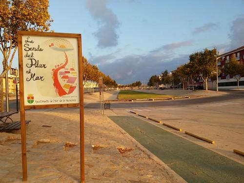 La senda de Pilar al Mar