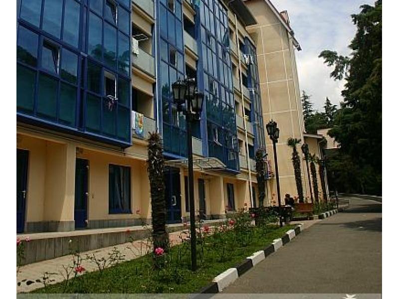 военный санаторий янтарь лазаревское фото
