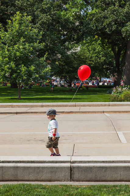 Happiness is a Red Balloon