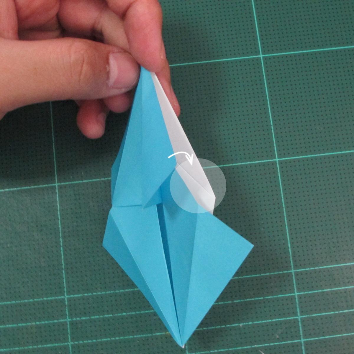 วิธีพับกระดาษเป็นถาดใส่ขนมรูปดาวแปดแฉก (Origami Eight Point Star Candy Tray) 013