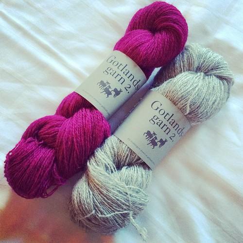 I've found Swedish yarn:) Ho trovato lana svedese:) #knitting #tricot #lavoroamaglia #emmafassio